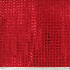 SEQ- 6mm Red Sequin Fabric | Shop Hobby Lobby