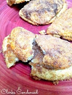 Copycat Taco Bell Caramel Apple Empanadas by Clarks Condensed