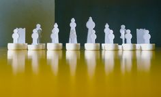 Matt- recycled cardboard chess - aquapotabile.com