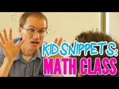 """Kid Snippets: """"Math Class"""" (Imagined by Kids) -  this happens every time i try helping kids with math!!"""