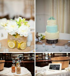 A sweet and emotional gray and yellow wedding by Kristen Weaver Photography || see more on borrowedandbleu.com
