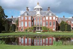 Huis ten Bosch Palace, the Queen's home since is located in the north-eastern part of The Hague. Like Noordeinde Palace and the Royal Palace in Amsterdam, the State has placed Huis ten Bosch Palace at the Queen's disposal by Act of Parliament. The Hague Netherlands, Kingdom Of The Netherlands, Beautiful Architecture, Beautiful Buildings, Beautiful Places, Leiden, Rotterdam, La Haye, Temple Ruins