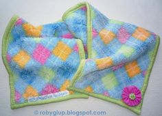 Fleece scarf for boys and girls with applied fabric decoration (with matching mittens and bonnet) - RobyGiup handmade