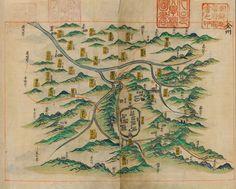 서울대학교 규장각 지리지 종합정보 - 전라북도각군읍지(규10770) 전주 1896 map of Jeonju