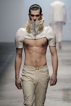 Romain Kremer f-w 2010 ZsaZsa Bellagio – Like No Other: Man oh Glam