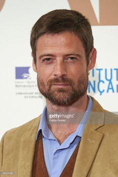 Actor William Miller attends 'Samba' premiere at the Palafox cinema on February 12, 2015 in Madrid, Spain.