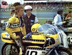 JARNO SAARINEN sur BIKE 70