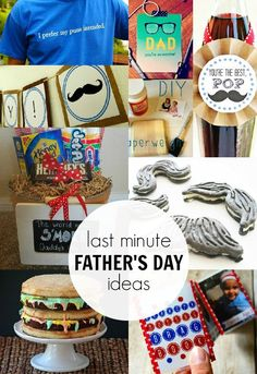 Last Minute Father's Day Ideas >> #CreateandInspire Features