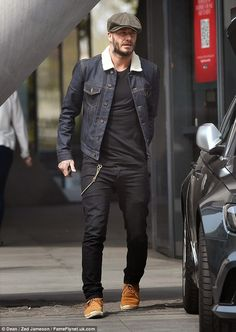 Wear It Like Beckham: #DavidBeckham #HediSlimane #SaintLaurent #FashionBlogg #StyleBlogg