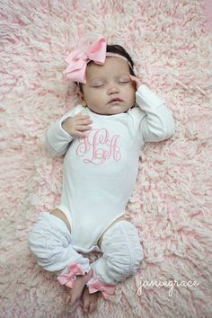Baby Girl Coming Home Outfit Baby Girl Clothes Baby by juniegrace