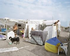 Magical Photos of Families Camping on Piémanson Beach in the South of France - Feature Shoot Free Beach, Contemporary Photography, South Of France, Family Camping, Nature Reserve, Recreational Vehicles, In The Heights, Documentaries, Dog