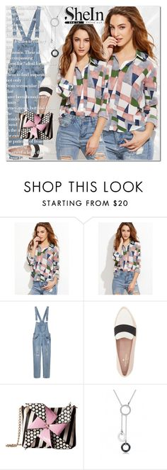 """""""shein"""" by ilona-828 ❤ liked on Polyvore featuring Kate Spade, Betsey Johnson, StreetStyle, polyvoreeditorial and shein"""
