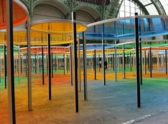 Daniel Buren: Master Artist Of Open Spaces Takes On The Grand Palais