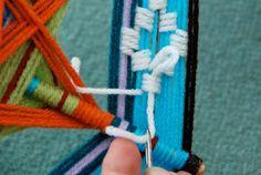 Ojo de dios - Embroidery