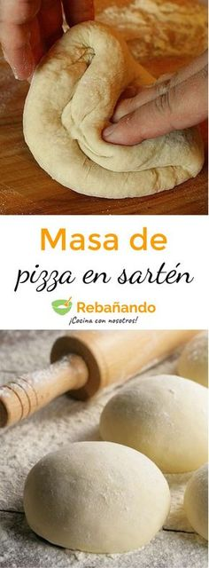 Super fast PIZZA MASS recipe that you can do in 7 minutes in a Frying Pan! Pizza Buns, Eat Pizza, Pizza Gourmet, Homemade Pizza Rolls, Parmesan Pizza, Prosciutto Pizza, Canned Blueberries, Scones Ingredients, Empanadas