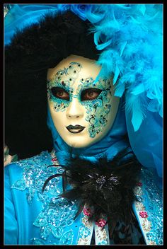 Venice carnival 2011 - Turquoise