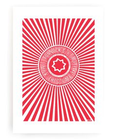 Tunnock's Teacake Wrapper Art Print