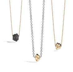 Collanine nodo necklace silver gift women gioiello moda fashion jewellery beautiful knot gold oro giallo
