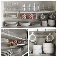 The tableware storage in the kitchen is an indispensable part. At present, the tableware storage items commonly used include chopsticks cages, sideboards, Home Organisation, Kitchen Cabinet Organization, Kitchen Storage, Kitchen Cupboard, Organization Ideas, Storage Ideas, Diy Kitchen, Kitchen Decor, Kitchen Ideas