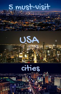 Looking for the best USA cities to visit? From road trips through California to go celebrity-spotting in Los Angeles to the skyscrapers of Chicago, Times Square in New York and fast-paced fun in Las Vegas, use this guide to cities in the USA to map out your perfect adventure!