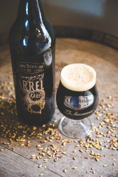 Karl Strauss Celebrates 27 Years w/Bourbon Barrel-Aged Double Chocolate Imperial Stout Beer Photos, Wine Photography, Product Photography, Buy Beer, Home Brewing Beer, Bourbon Barrel, How To Make Beer, Beer Bar, Beer Label