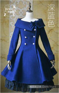 Pretty Outfits, Pretty Dresses, Beautiful Outfits, Kawaii Fashion, Lolita Fashion, Emo Fashion, Vestidos Vintage, Vintage Dresses, Anime Dress