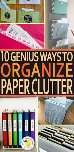 Whether you are a college student with a bunch of homework, a stay at home mom who receives weekly mail, or a businessman who has a stack of paperwork to read, paper clutter often appears as a scary challenge to accomplish. Having paper clutter means you need to get ready for a giant mess. And a … 10 Super Easy Hacks to Organize Your Paper ClutterRead More »