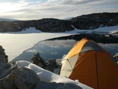 169 nights spent outside in Antarctica in this tent