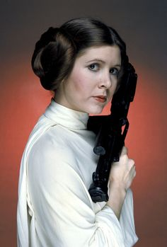 Carrie Fisher as Princess Leia - May The Force Be With Her Forever