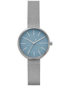 ddce2d96be76 Skagen Women s Signature Stainless Steel Mesh Bracelet Watch 30mm SKW2622    Reviews - Watches - Jewelry   Watches - Macy s