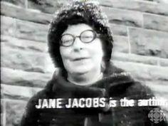 Jane Jacobs on urban design of Toronto & Montreal circa 1969