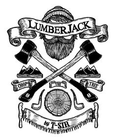 lumberjack art - Google Search