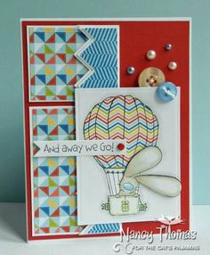 And Away We Go by nancyt - Cards and Paper Crafts at Splitcoaststampers