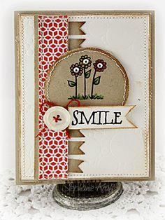 Card by Stephanie Kraft using Verve Stamps.