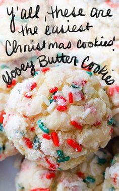 Köstliche Desserts, Holiday Desserts, Holiday Treats, Holiday Recipes, Christmas Recipes, Recipes Dinner, Christmas Treats To Make, Best Holiday Cookies, Holiday Baking Ideas Christmas