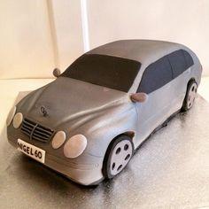 Mercedes Benz car cake