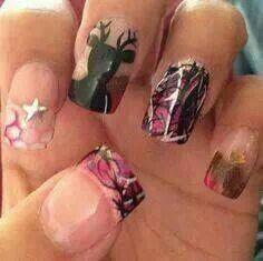 Camo nail
