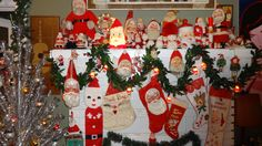 Vintage Santa Claus collection