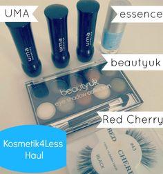 Kosmetik4less Haul & Review: Swatches - UMA, beautyuk, essence, Red Cherry |Madame Keke Fashion & Beauty Blog
