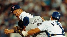 People You Don't Want to Get Into a Fight With -> Nolan Ryan & Pudge Rodriguez :)  Bound to go down.