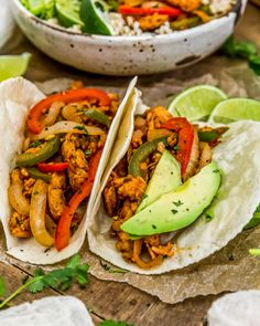 Tex-Mex comfort food at its best, our Vegan Soy Curl Fajitas are packed with wholesome veggies, perfect for busy nights, and down-right delicious! Gf Recipes, Kitchen Recipes, Lunch Recipes, Whole Food Recipes, Cooking Recipes, Delicious Recipes, Healthy Recipes, Sugar Free Vegan, Fajita Recipe