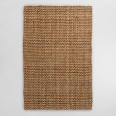 Natural Basket Weave Jute Teppich – 9 'x von World Market – jute Rugs living room Affordable Area Rugs, Floor Runners, Rug World, Natural Fiber Rugs, Natural Texture, Natural Rug, Natural Wood, Jute Rug, Cowhide Rugs