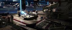 Venator Class Star Destroyer Hanger (Star Wars Episode III - Revenge of the Sith)