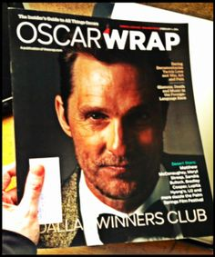 """This should be a #Good Read:)  Can't Wait to See #MatthewMcConaughey bring home the #Oscar for the #DallasBuyersClub:)  He deserves Every #Award they give him for his role in that #Film:)    (* #ESAudio #RecordingStudio Enjoyed havin' Matthew in #Studio A when he Recorded his #Song, """"Ladies of Tampa"""" for his #Movie, """"#MagicMike"""":)   #Movies #AcademyAwards #Hollywood #CA   By: #JamminJo 2014"""