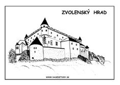 Zvolenský hrad World Thinking Day, Mural Wall Art, Bratislava, Taj Mahal, Activities For Kids, Education, Mesto, Travel, Viajes