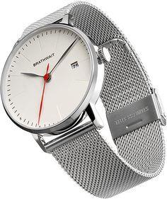 The Automatic Minimalist Wrist Watch - Mesh Strap Strap – #Brathwait