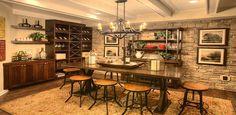 Only Three Atlanta Homes Left at Lassiter Ridge - Atlanta Real Estate Forum Basement Inspiration, Basement Ideas, Wine Shelves, Floating Shelves, Wine Storage, Basement House, Basement Apartment, Atlanta Homes, Tasting Room