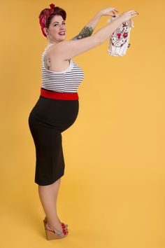 Pregnant pinup