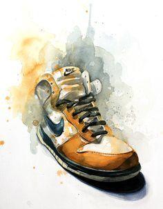 cuadro zapatillas nike