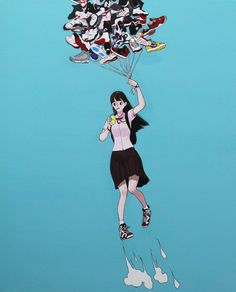 Air Jordan Girl  by Jungyoun Kim